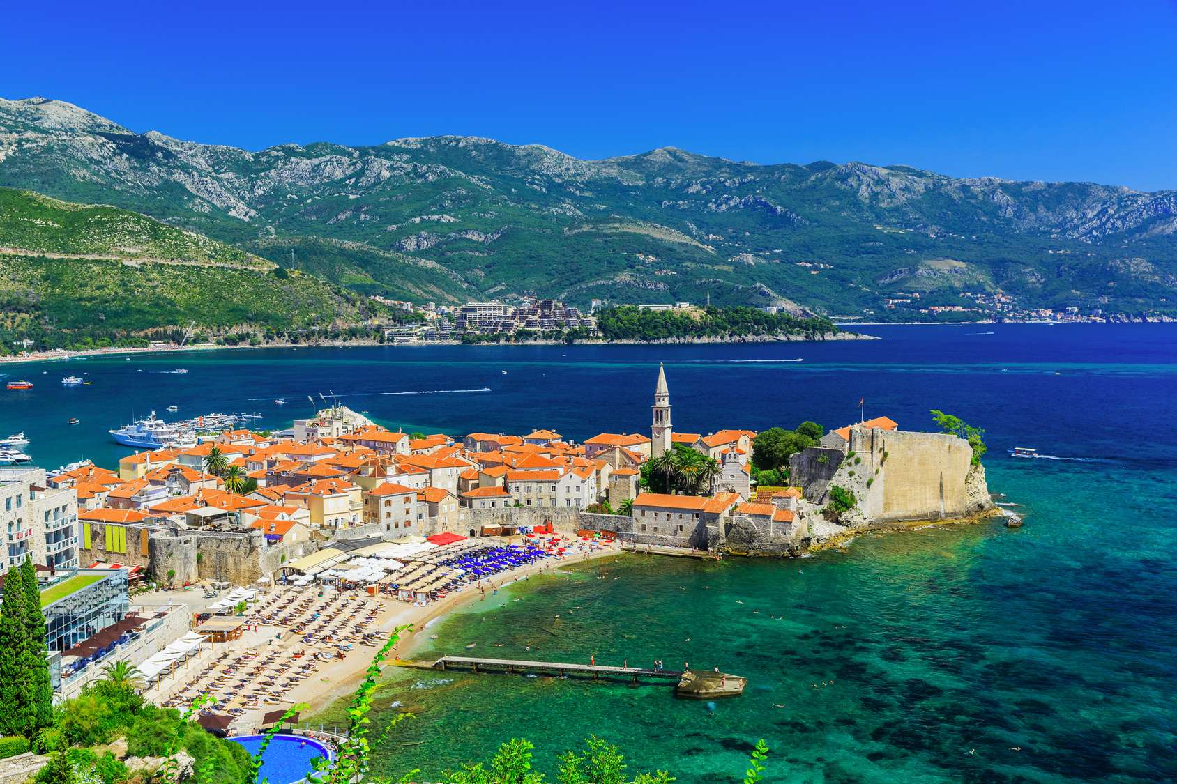 Budva Montenegro Complete Custom European Travel